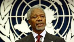 """Kofi Annan volt ENSZ-főtitkár: """"győztesként tértetek haza"""""""