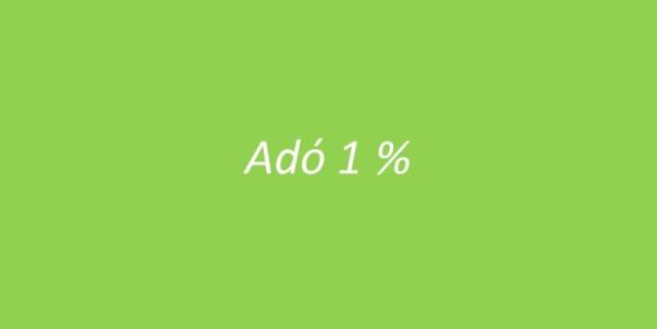 1% felajánlás 2013-ban
