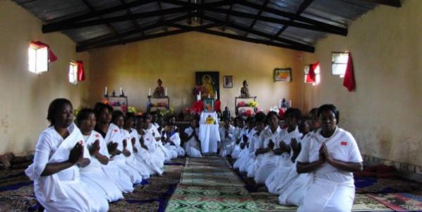 Upasika Kaew Ordination and Training Program in DR Congo