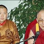 A jelenlegi Diluv Khutagt a XIV. Dalai Lámával