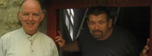 Szubhúti és Bivaly (Bivaly az uszói elvonulóközpont gondnoka)