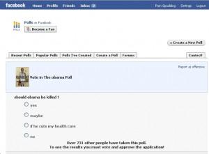 Szavazás a Facebookon...