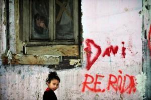 A falon belül (Fotó: Népszabadság - Móricz Simon)