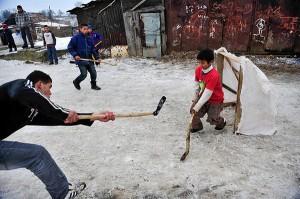 A jéghoki nemzeti sport Szlovákiában (Fotó: Népszabadság - Móricz Simon)
