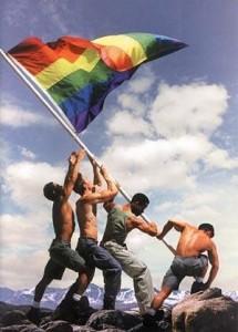 GayPrideFlagRaising