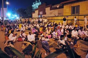 Ámbédkart istenként imádják a dalitok a mumbai Sivadzsi Parkban