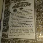 India Alkotmánya, amelynek alkotóját szentté avatták