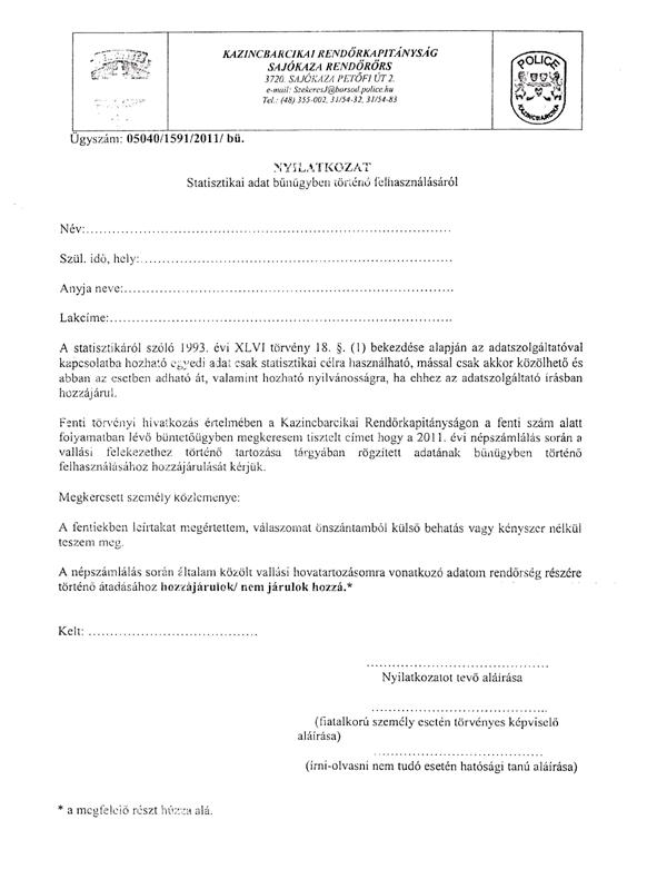 rendorseg-dokumentum